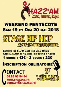 Stage de Hip Hop par Shazz'Am @ Saint-Vérand | Auvergne-Rhône-Alpes | France